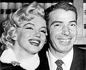 Marilyn Monroe Marries Joe DiMaggio