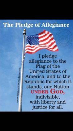 """Under God"" phrase added to the Pledge of Allegiance"