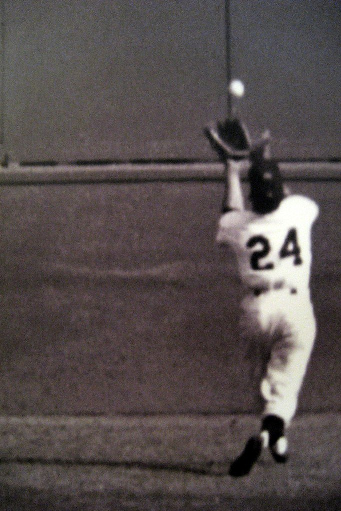 """""""The World Series Catch"""" by Willie Mays"""