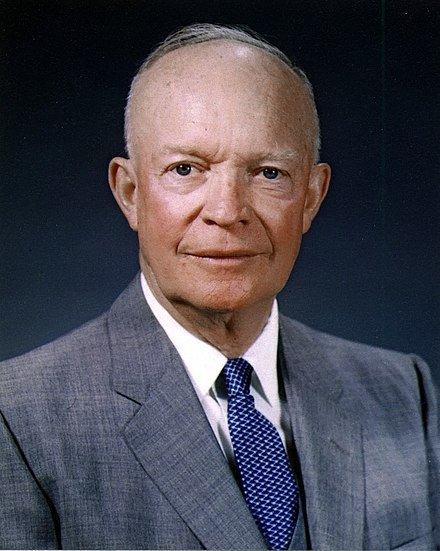 President Eisenhower upholds use of atomic weapons