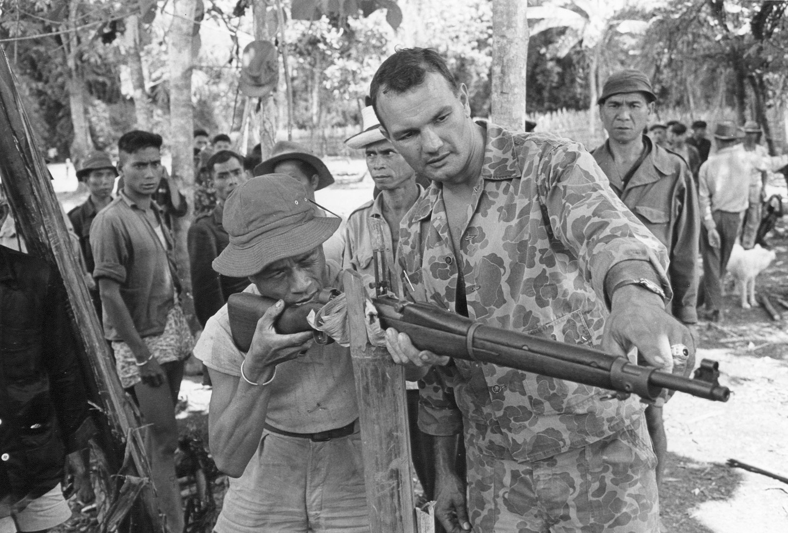 First US Advisors Sent to South Vietnam